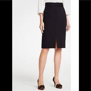 Ann Taylor Front Slit Pencil Skirt